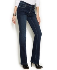 Inc International Concepts Petite Bootcut Jeans Dark Wash Spirit