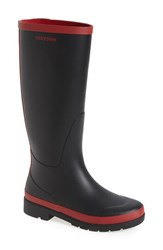 Tretorn Women's 'Leah' Rain Boot Black Bordeaux