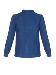 A.P.C. Lina Cotton And Linen Blend Shirt