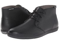 Cole Haan Pinch Weekender Chukka Black Waterproof Leather Men's Lace Up Casual Shoes