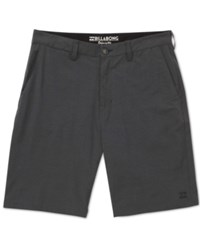 Billabong Men's Crossfire X Hybrid Shorts Asphalt
