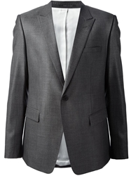 Emporio Armani Classic Jacket And Trouser Suit Grey