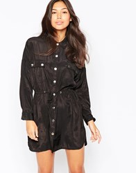 Goldie Independent Military Dress Black