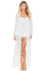 Homebodii Helena Long Robe White