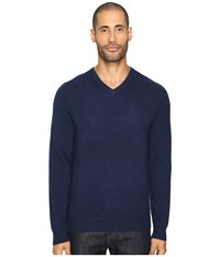 Vince Cashmere Long Sleeve Crew Neck Sweater Heather Militia