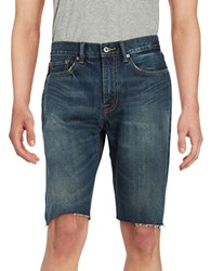Lucky Brand Denim Jean Shorts Blue