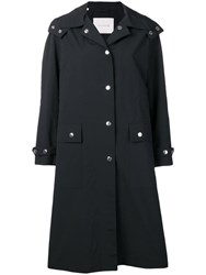Mackintosh Hooded Rain Coat Black