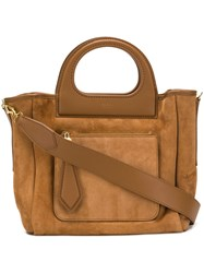 Max Mara Shopper Bag Brown