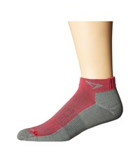 Drymax Sport Running Mini Crew 3 Pack October Pink Anthracite Crew Cut Socks Shoes Brown