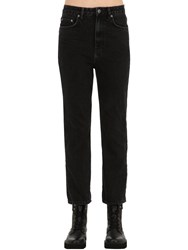 Ksubi Chlo Wasted Cotton Denim Jeans Black