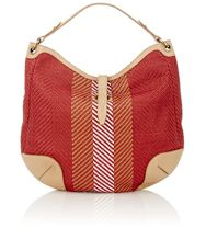 Belstaff Crosby Shoulder Bag Red