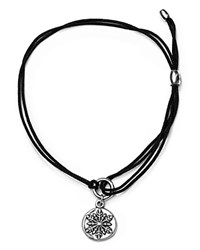 Alex And Ani Snowflake Kindred Cord Bracelet Black