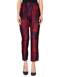 Tela Trousers Casual Trousers Women Red