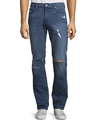 7 For All Mankind Slimmy California Estate Distressed Jeans