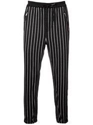 3.1 Phillip Lim Striped Track Pants Black