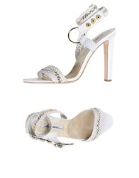 Brian Atwood Sandals White
