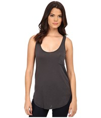 Lamade Boyfriend Tank W Pocket Raven Women's Sleeveless Black
