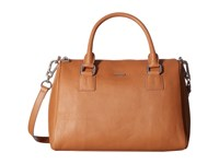 Lodis Mill Valley Under Lock Key Valda Satchel Toffee Satchel Handbags Brown