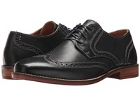 Nunn Bush Charles Wing Tip Oxford Navy Lace Up Wing Tip Shoes