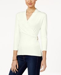 Charter Club Crossover Top Only At Macy's Cloud