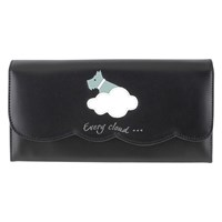 Radley Silver Lining Leather Matinee Purse Black