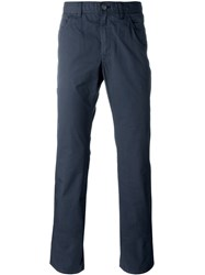 Brioni Chino Trousers Blue