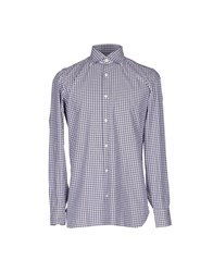 Giampaolo Shirts Steel Grey