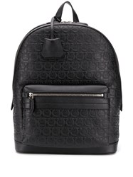 Salvatore Ferragamo Gancini Embossed Backpack 60