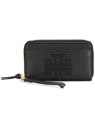 Tory Burch Embossed Logo Smartphone Case Black