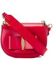 Salvatore Ferragamo 'Anna' Crossbody Pink Purple