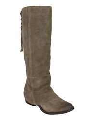 Naughty Monkey Arctic Solstice Suede Tall Shaft Boots Taupe