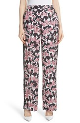 Ted Baker London Remeel Wide Leg Silk Pants Dusky Pink