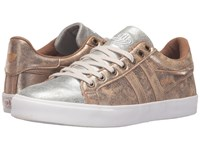 Gola Orchid Super Metallic Gold Silver Women's Shoes