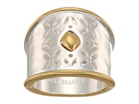 Lucky Brand Openwork Ring Two Tone Ring Metallic