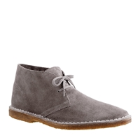 J.Crew Classic Macalister Boots In Suede Anchor Grey