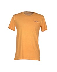 Hamaki Ho Topwear T Shirts Men Orange