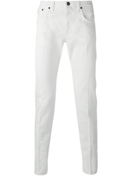 People Slim Fit Jeans White