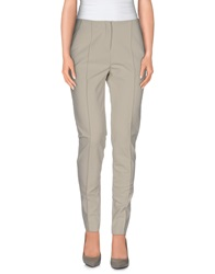 Pf Paola Frani Casual Pants Light Grey