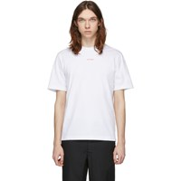 Band Of Outsiders White 'Outsider' T Shirt
