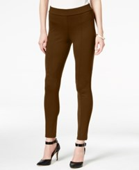 Styleandco. Style Co. Seamfront Ponte Leggings Only At Macy's Rich Truffle
