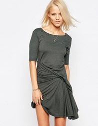 Religion Caution Dress With Twist Detail Thyme