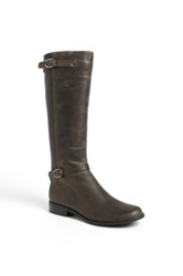 Aetrex 'Chelsea' Leather Riding Boot Gray