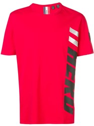 Rossignol Side Print T Shirt Red