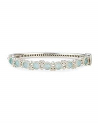 Jude Frances Encore Provence Round Labradorite And Quartz Bangle With Diamonds
