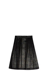 Marco De Vincenzo Grid Mini Skirt