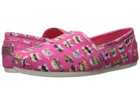 Skechers Bobs Plush Kitty Smarts Hot Pink Women's Slip On Shoes