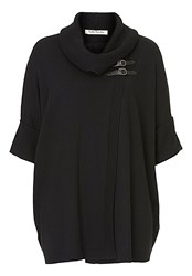 Betty Barclay Oversize Wrapped Jumper Black