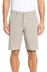 Travis Mathew Men's Beck Stretch Performance Shorts Khaki