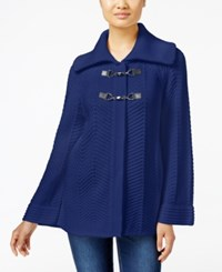 Jm Collection Toggle Front Cardigan Only At Macy's Bright Sapphire