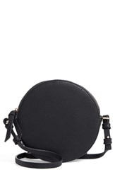 Chelsea 28 Chelsea28 Cassie Faux Leather Circle Crossbody Bag Black